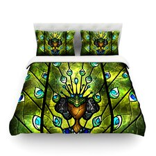 Angel Eyes by Mandie Manzano Light Duvet Cover