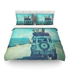 Never Stop Exploring III by Monika Strigel Light Cotton Duvet Cover