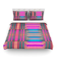Tracking by Nina May Stripes Duvet Cover