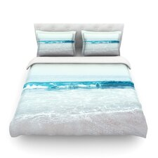 Crystal Clear by Nastasia Cook Ocean Wave Featherweight Duvet Cover