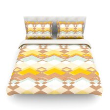 Retro Desert by Nika Martinez Light Duvet Cover