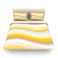 Desert Waves by Nika Martinez Light Duvet Cover