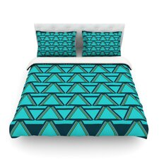 Deco Angles by Nina May Duvet Cover
