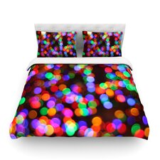 Lights II by Maynard Logan Light Cotton Duvet Cover