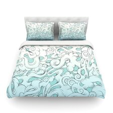 Entangled Souls by Mat Miller Featherweight Duvet Cover