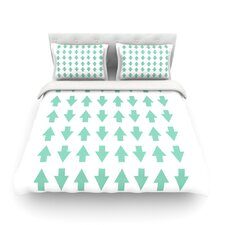 Arrows Up and Down by Project M Duvet Cover