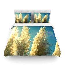 Ornamental Grass by Robin Dickinson Featherweight Duvet Cover
