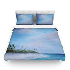 Carefree Carribean by Rosie Brown Featherweight Duvet Cover