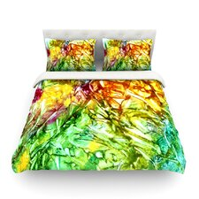 Kaleidoscope by Rosie Brown Featherweight Duvet Cover