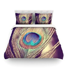 Proud as a Peacock by Nastasia Cook Feather Featherweight Duvet Cover
