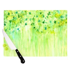 April Showers by Rosie Brown Cutting Board