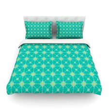 Hive Blooms by Nicole Ketchum Duvet Cover