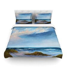 Wet Sand by Rosie Brown Beach View Featherweight Duvet Cover