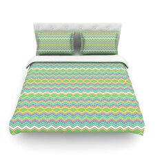 Chevron Love by Nicole Ketchum Duvet Cover