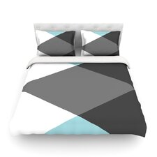 Diamonds by Suzanne Carter Duvet Cover