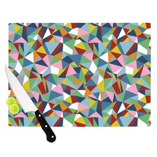 Abstraction by Project M Rainbow Abstract Cutting Board