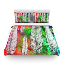 Feather by Suzanne Carter Rainbow Space Featherweight Duvet Cover