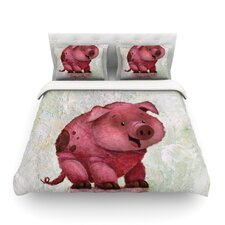 This Little Piggy by Rachel Kokko Duvet Cover