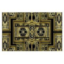 Golden Art Deco Doormat