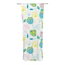 Indie Floral Curtain Panels (Set of 2)