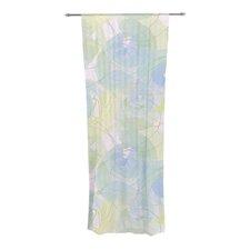 Paper Flower Curtain Panels (Set of 2)