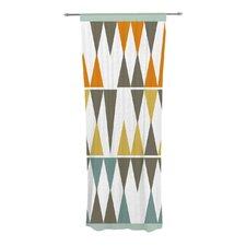 Diamond Kilim Curtain Panels (Set of 2)