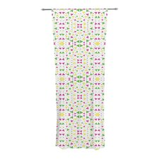 Neon Triangles Curtain Panels (Set of 2)