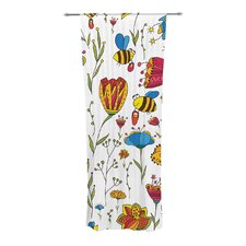 Bees Curtain Panels (Set of 2)