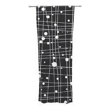 Woven Web Mono Curtain Panels (Set of 2)