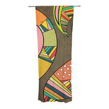 Cosmic Aztec Curtain Panels (Set of 2)
