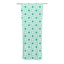 Tossing Pennies I Curtain Panels (Set of 2)