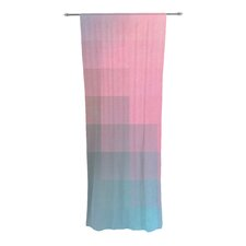 Girly Pixel Surface Curtain Panels (Set of 2)