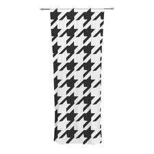 Spacey Houndstooth Curtain Panels (Set of 2)