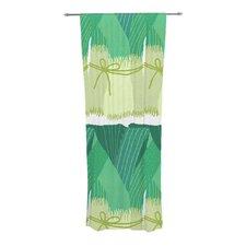 Leeks Curtain Panels (Set of 2)