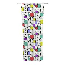 My Happy Squares Curtain Panels (Set of 2)
