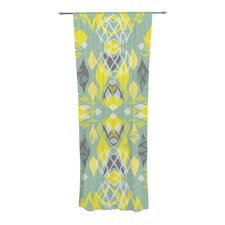 Joyful Teal Curtain Panels (Set of 2)