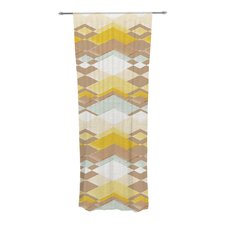 Retro Desert Curtain Panels (Set of 2)