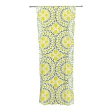 Blossoming Buds Curtain Panels (Set of 2)