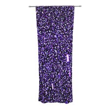Purple Dots Curtain Panels (Set of 2)
