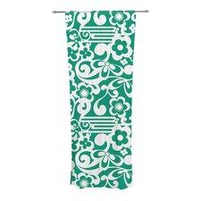 Emerald Curtain Panels (Set of 2)