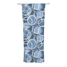 Simple Circles Curtain Panels (Set of 2)