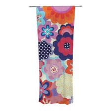 Patchwork Flowers Curtain Panels (Set of 2)