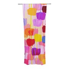 Dotty in Pink Curtain Panels (Set of 2)