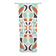 Stained Glass Curtain Panels (Set of 2)