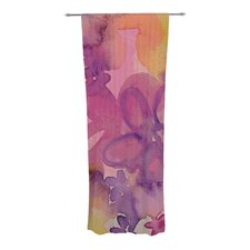 Dissolved Flowers Curtain Panels (Set of 2)