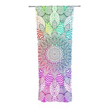 Rainbow Dots Curtain Panels (Set of 2)