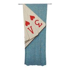 Love Curtain Panels (Set of 2)