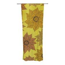 It's Raining Flowers Curtain Panels (Set of 2)