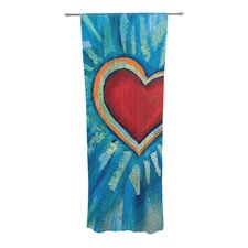 Love Shines On Curtain Panels (Set of 2)