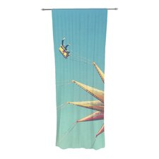 Flying Chairs Curtain Panels (Set of 2)